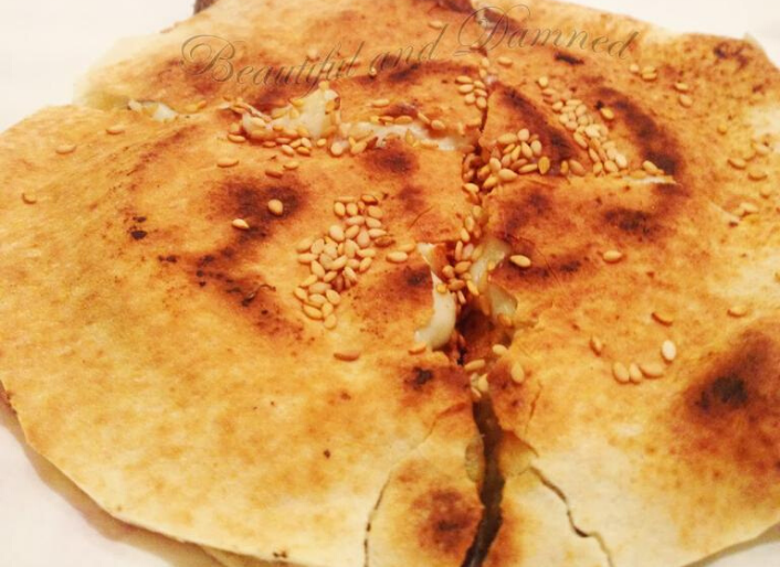 Pita de Berenjena